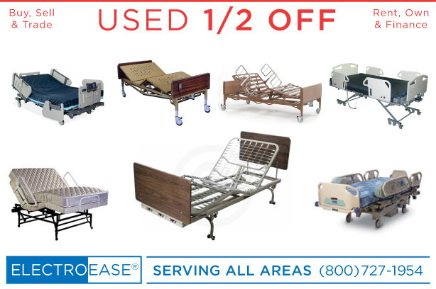 USED HOSPITAL BEDS ONE HALF OFF IN PHOENIX AZ