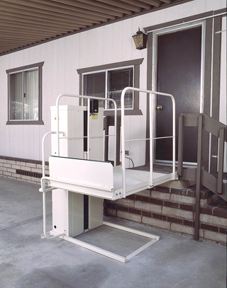 porchlift commercial ada wheelchair elevator vpl3100