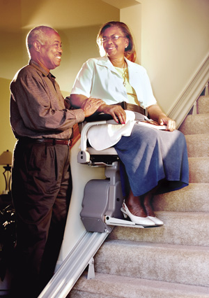 SRE-2750 Electra-Ride LT Indoor Straight Rail Stairlift