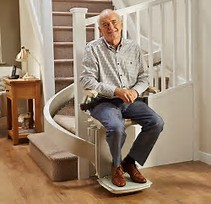 Cost Acorn 180 Customer Curved Stair Lift Sale Price