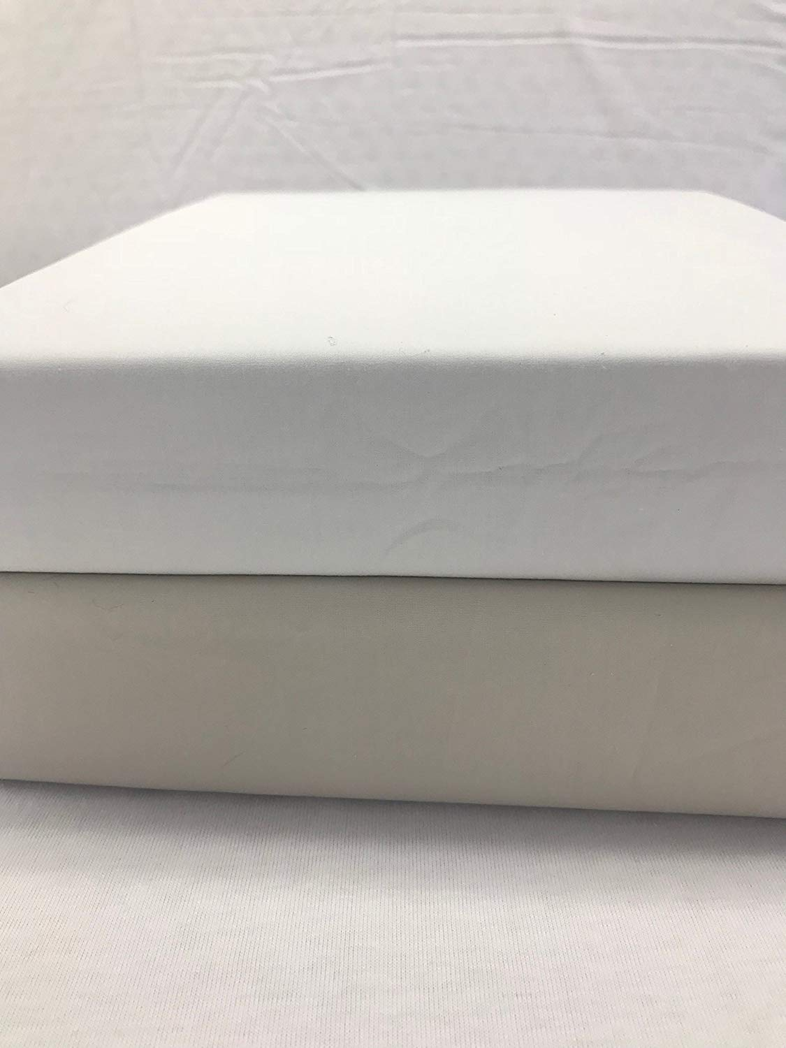 Bottom Fitted Sheets Dual Split Cal Kingsize Certified