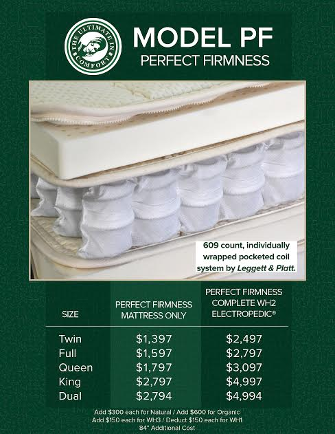 bed perfect firmness mattress tempe az