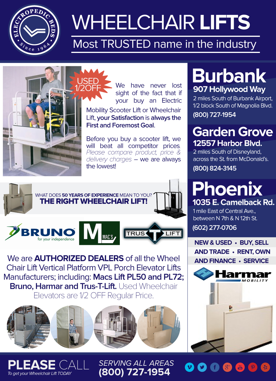 Phoenix az wheelchair elevators lift vertical platform lifts wheel chair porchlifts