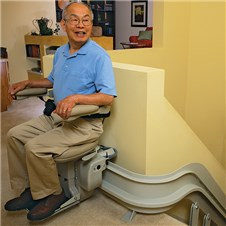 bruno CRE-2110 custom curved stair lifts phoenix az scottsdale sun city tempe mesa are glendale chandler peoria gilbert chandler surprise   chairlifts