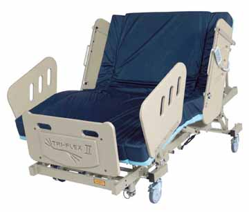 burkebariatric triflex II  bariatric bed phoenix az scottsdale sun city tempe mesa are glendale chandler peoria gilbert chandler surprise heavy duty large extra wide electric power adjustable medical mattress 3-motor high low fully electric reverse trendellenburg