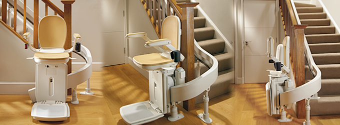 Curved Stair Chair Lift
