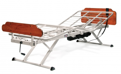 Houston Patriot Hi-Lo Made in the USA Electric Adjustable Medical Hospital Beds and Mattresses