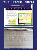 high profile latex mattress Los Angeles CA Santa Ana Costa Mesa Long Beach  talalay foam natural organic beds