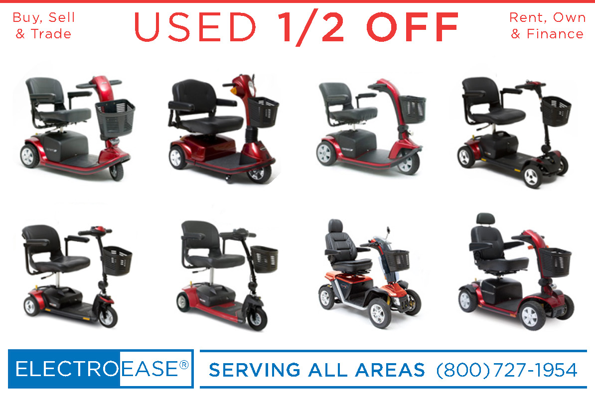 Phoenix az Store:  Rent a Pride Mobility GoGo Rental Electric Elderly 3 Wheel and Used 4 Wheeled Senior Scooters