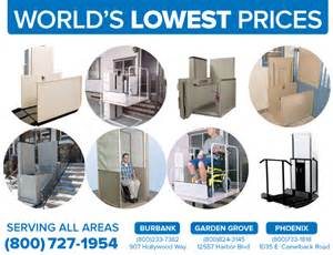 affordable inexpensive second hand used cheap vertical platform lifts porch vpl pl50 macs bruno harmar trus-t-lift in Phoenix